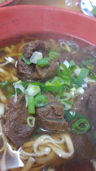 beef noodles from Juifen